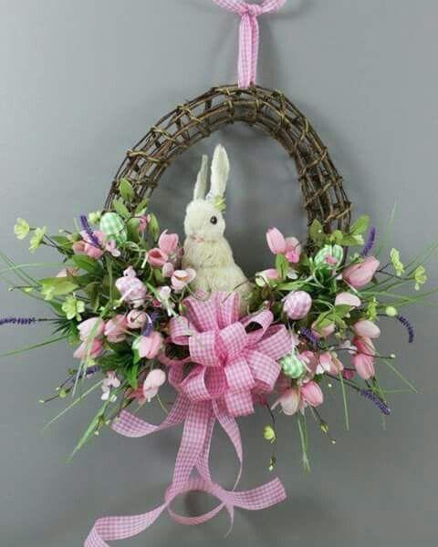 Arreglo Floral de Pascua.   'rosbs'