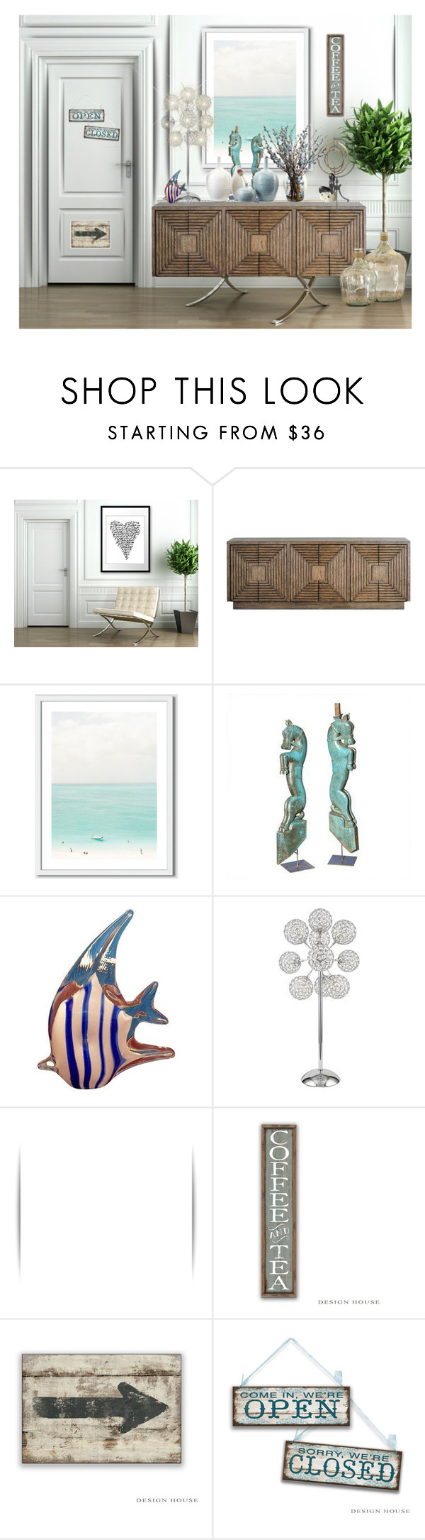 """Sin título #532"" by yblacasa on Polyvore featuring interior, interiors, interior design, hogar, home decor, interior decorating, A2 by Aerosoles, Currey & Company, West Elm y Murano"