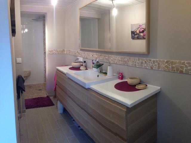 photos d coration de salle de bain nature pierre naturelle douche italienne de marion54 deco. Black Bedroom Furniture Sets. Home Design Ideas