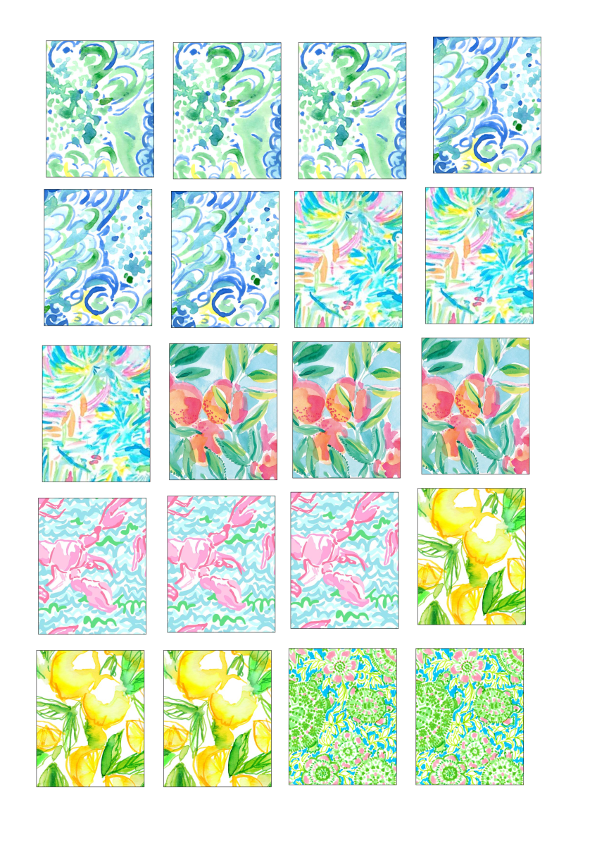 lilly pulitzer inspired – erin condren boxes – free printable