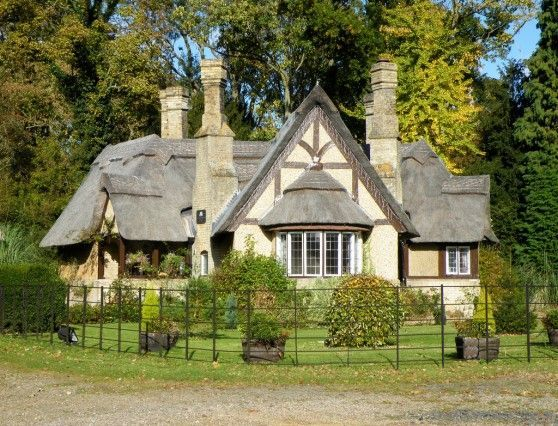 English Tudor Cottages Storybook Tudor Cottage With A