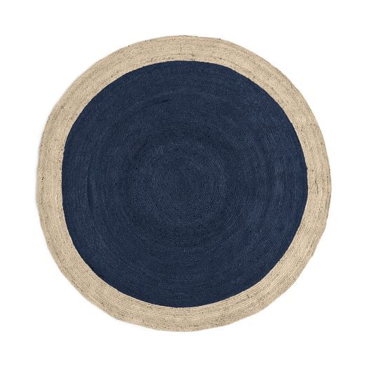 Bordered Round Special Order Jute Rug 4 Week Delivery