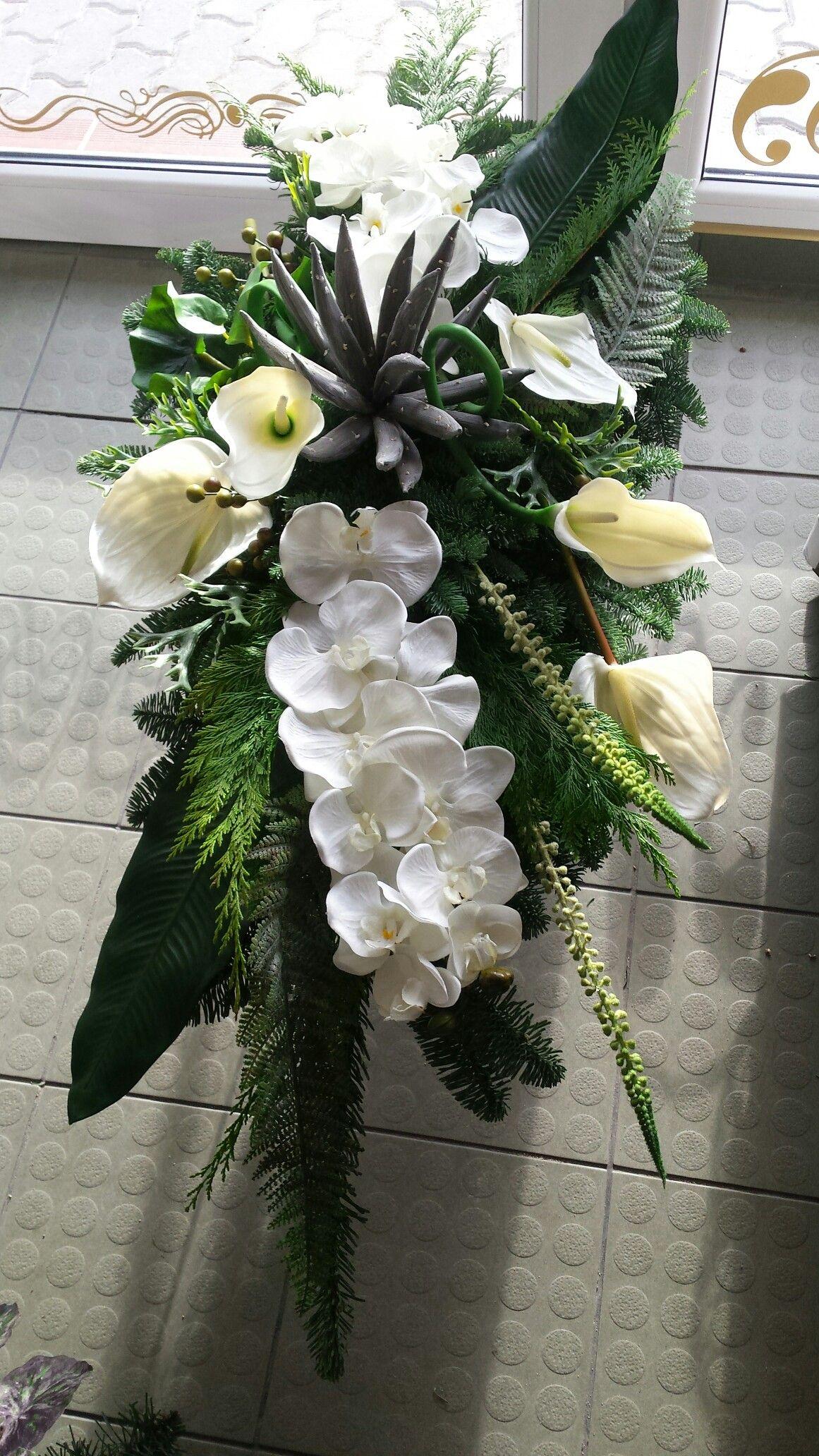 Kompozycja 06 Kwiaciarnia Szafirek Wyrzysk Floral Floral Wreath Wreaths