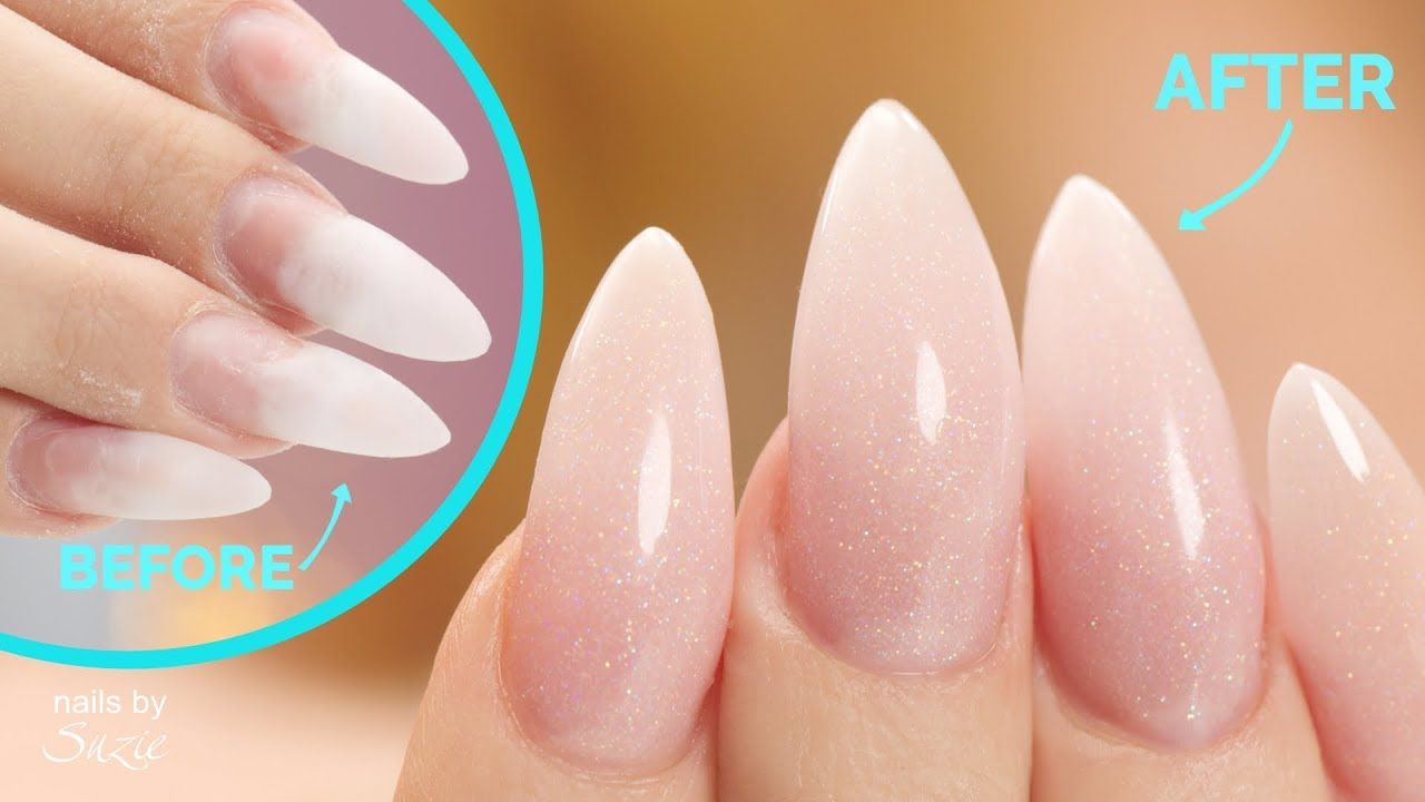 Acrylic Nail Fill And Makeover Youtube Acrylic Nails Best