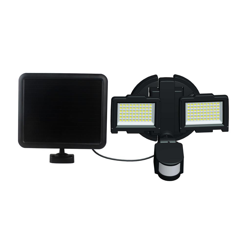 Nature Power 120 Led Outdoor Solar Motion Sensor Security Light