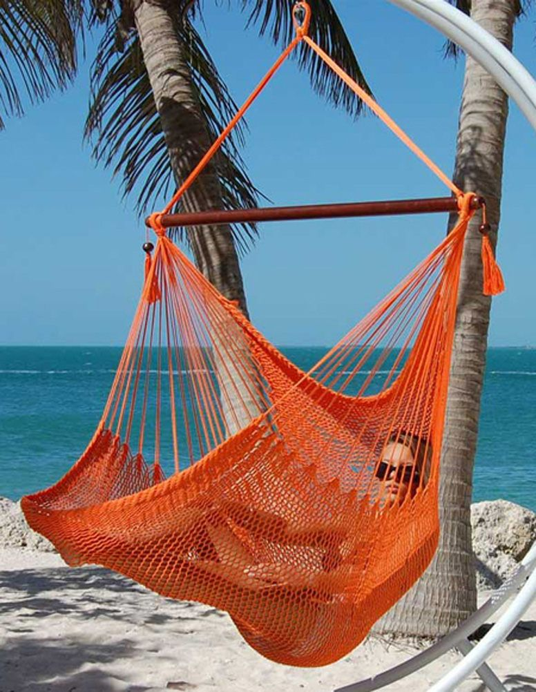 Hanging Caribbean Extra Large Hammock Chair 48 Inch O