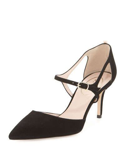 Sjp by sarah jessica parker Farah Bow Pointed Toe Ballet