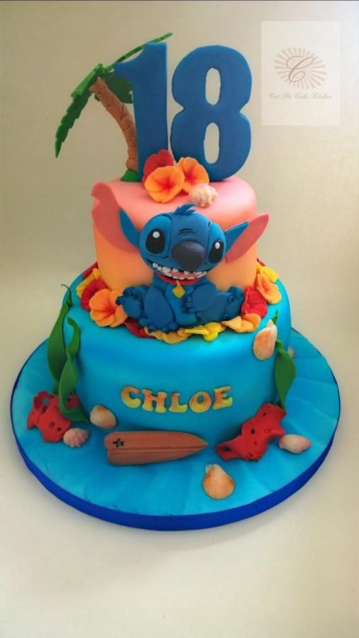 Stitch - Cake by Cut The Cake Kitchen | cute cakes in 2019 | Stitch ...