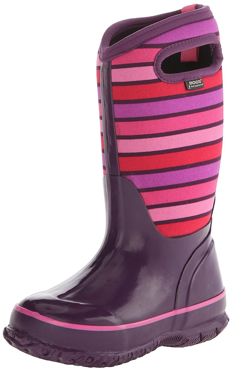 Bogs Kids Classic Stripes Winter Snow Boot Don T Get Left Behind See This Great Boots Girl S Boots Boots Spring Boots Rain Boots