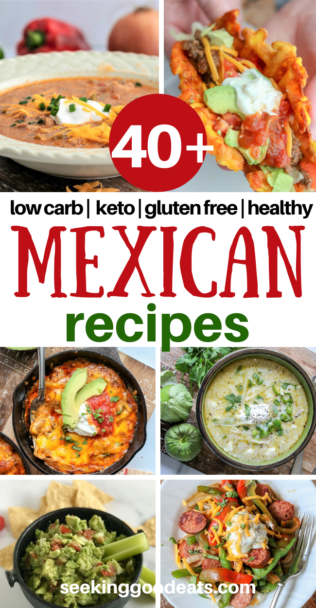 Keto Dinner: 40+ Mexican Recipes for Taco Tuesday!