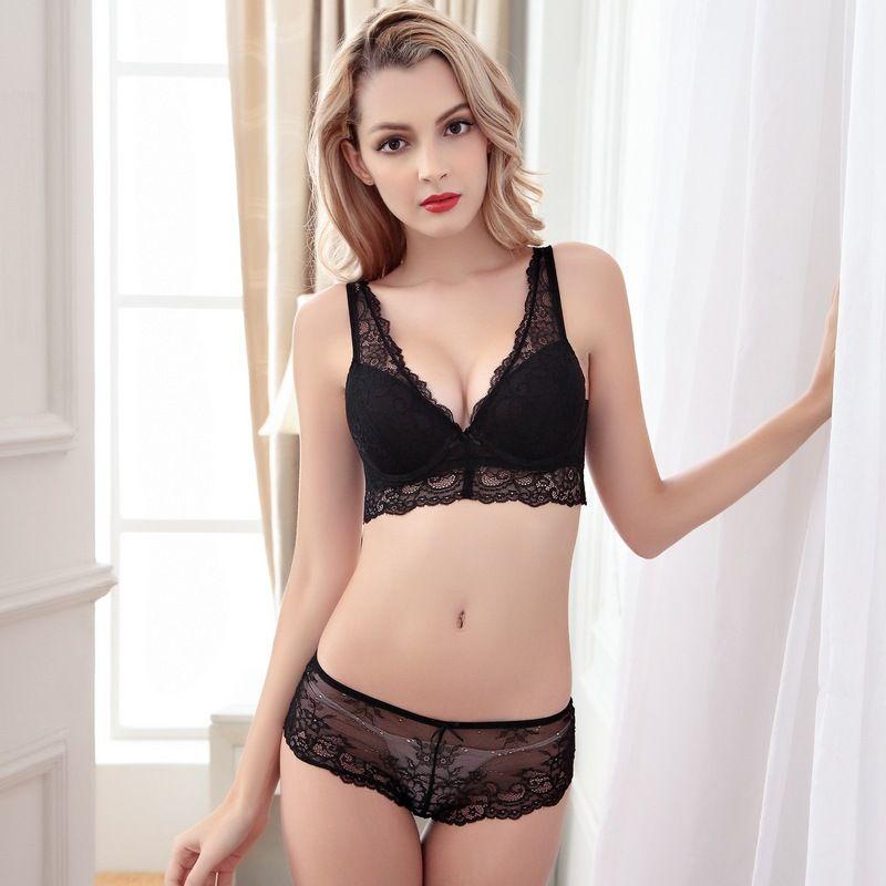 4464219d5a87d Noble Sexy Deep V Push-up Lingerie Bra Sets Underwear. lingerie sets, bras,  bustiers, corsets, panties