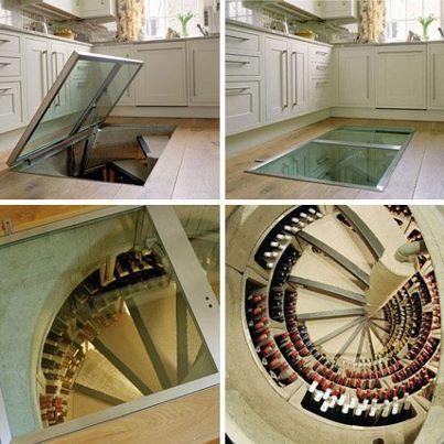 Wine cellar  We need this :p