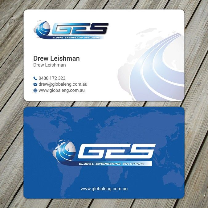 Business Cards For Fuel Tank Company By Picasso Company Business Cards Business Card Design Business Card Design Simple
