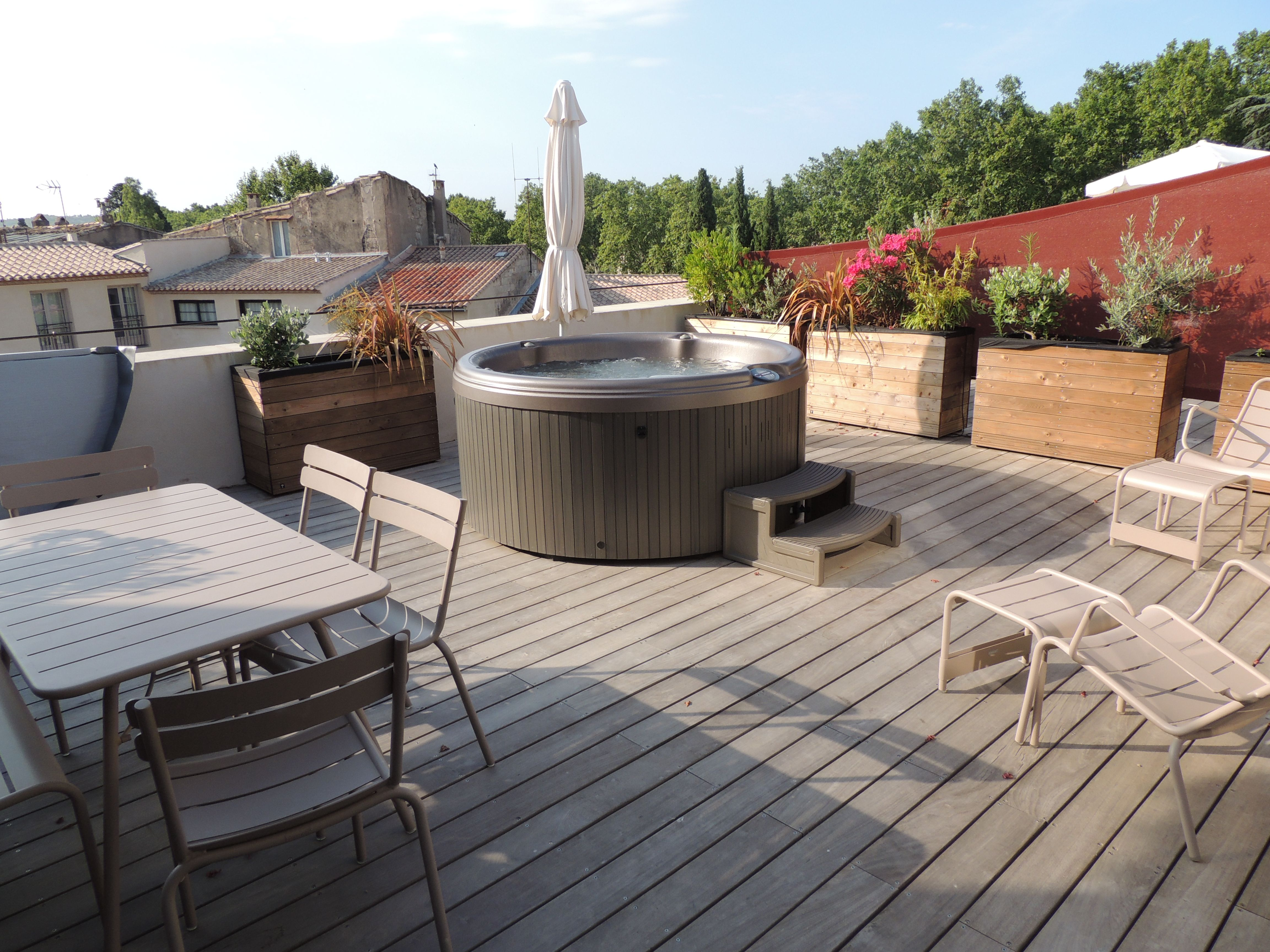100 Incroyable Suggestions Jacuzzi Gonflable Sur Terrasse Appartement