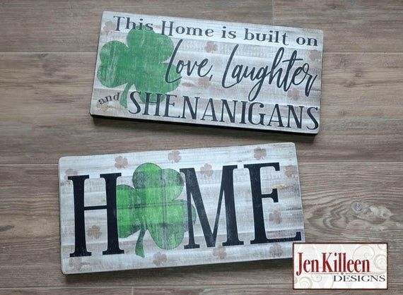 Download Irish St. Patrick's Day Wood signs / Home sign with ...