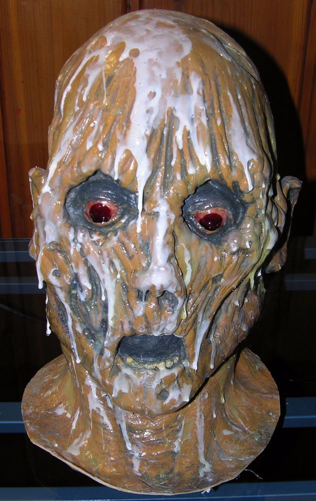 Latex Creepy Ood Octopus Head Mask Doctor Who Wode Star Horror Masks-Halloween Costumes OM TM