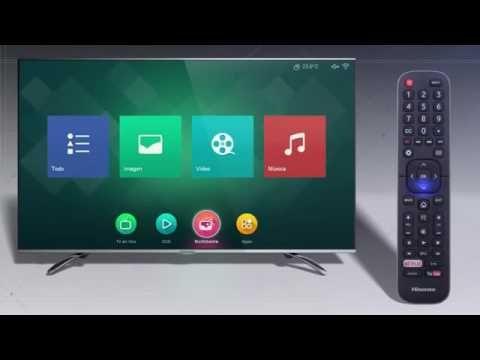 3893f4fd242d3 Hisense Smart TV 4K Sistema operativo VIDAA