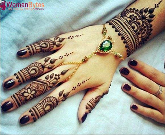 Finger Mehndi Design : New beautiful and hot mehndi designs fashi