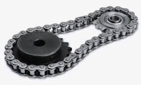 BikeMaster 530 Heavy Duty Precision Roller Chain 120 Links Natural