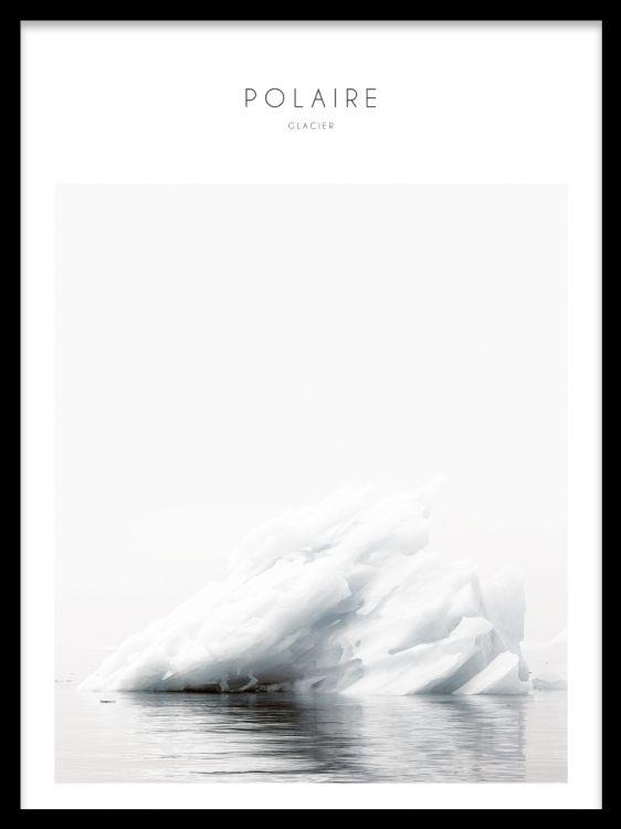 iceberg, motivi naturalistici.  Dipinti e poster con le foto della natura