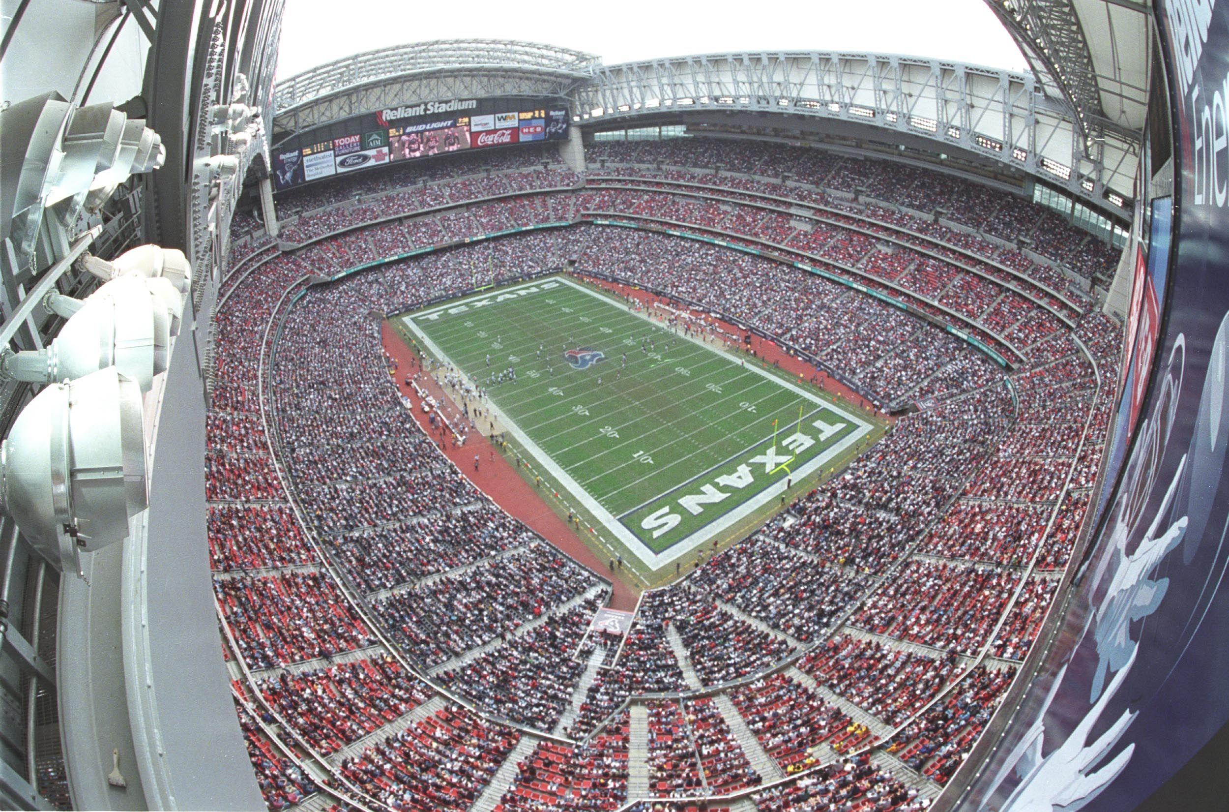 Reliant Stadium, Houston - Houston Texans (NFL) - Capacity