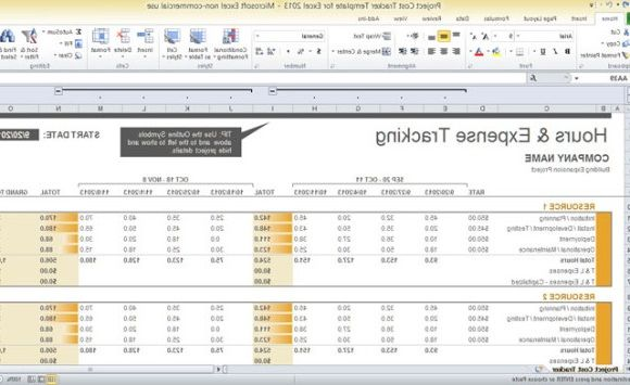 Excel Project Management Template Templates Business Plan