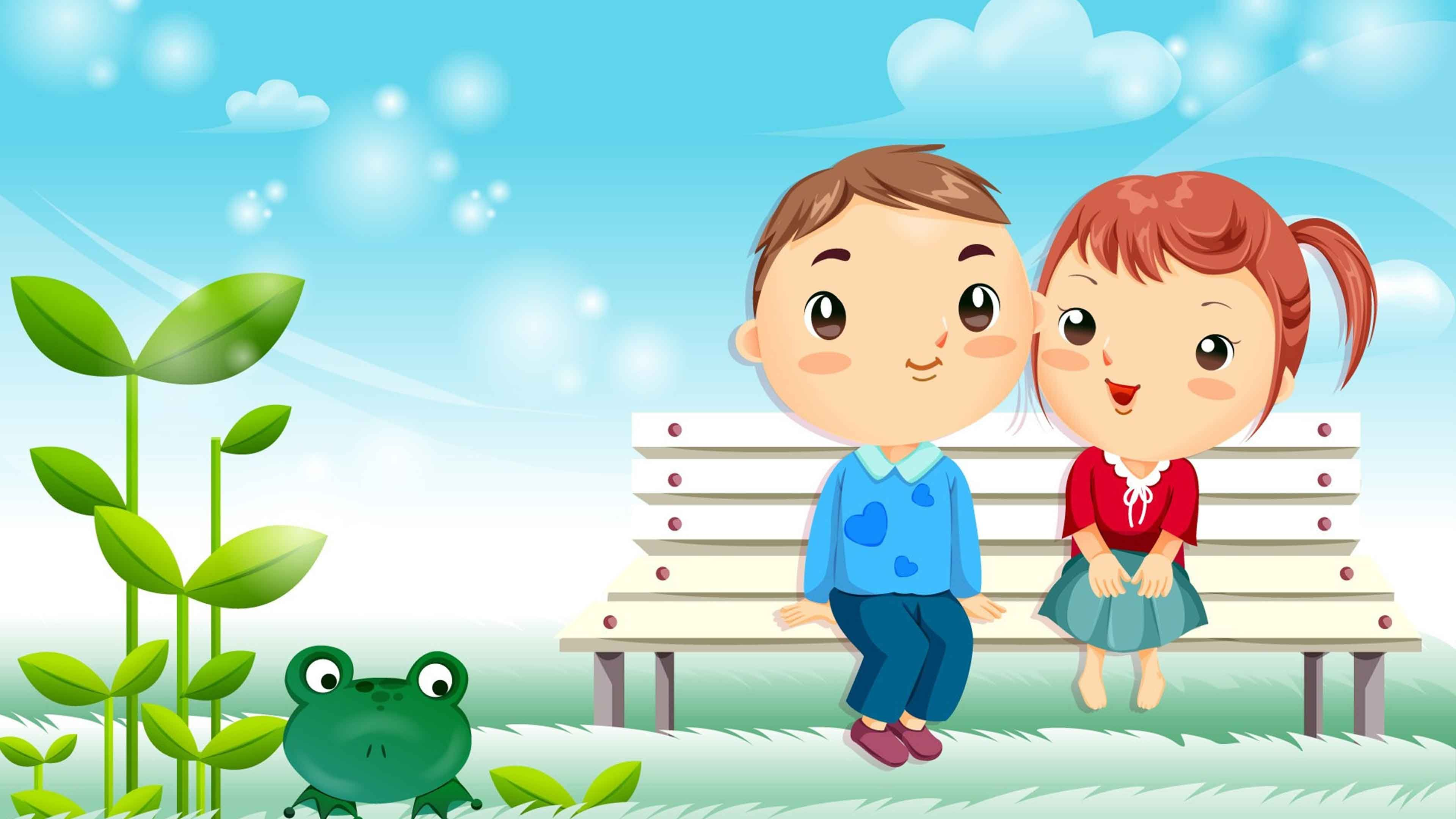 3d Love Couple Cartoon Wallpapers Download 3d Wallpaper HD