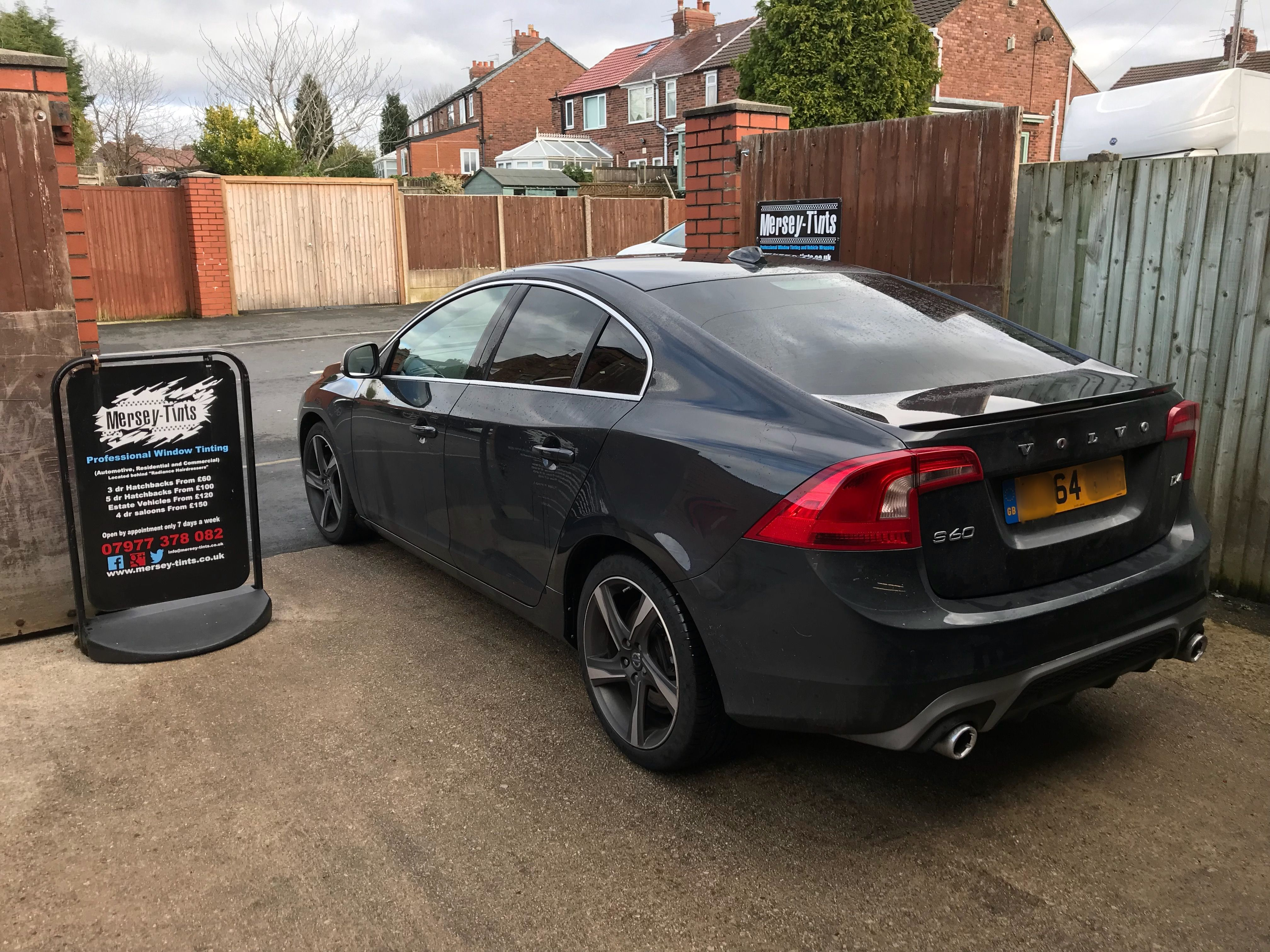 2014 Volvo S60 R Design In This Morning For 18 Carbon Tints To The 2012 Ford Focus Tinted Windows Rears