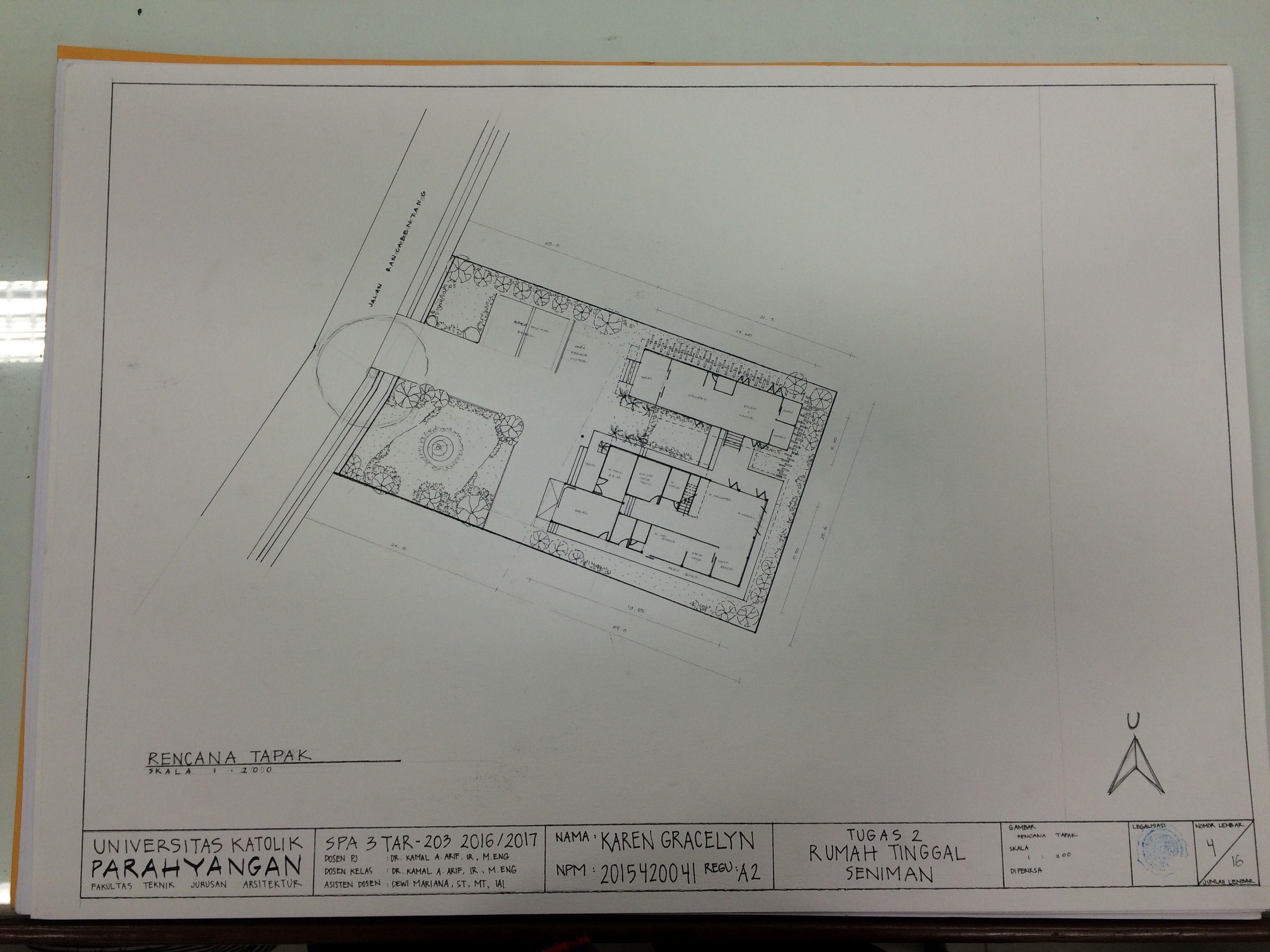Site plan rumah tinggal seniman spa3 artwork pinterest site site plan rumah tinggal seniman spa3 ccuart Choice Image