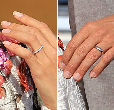 George Cloney And Amal Alamuddin Engagement Wedding Rings