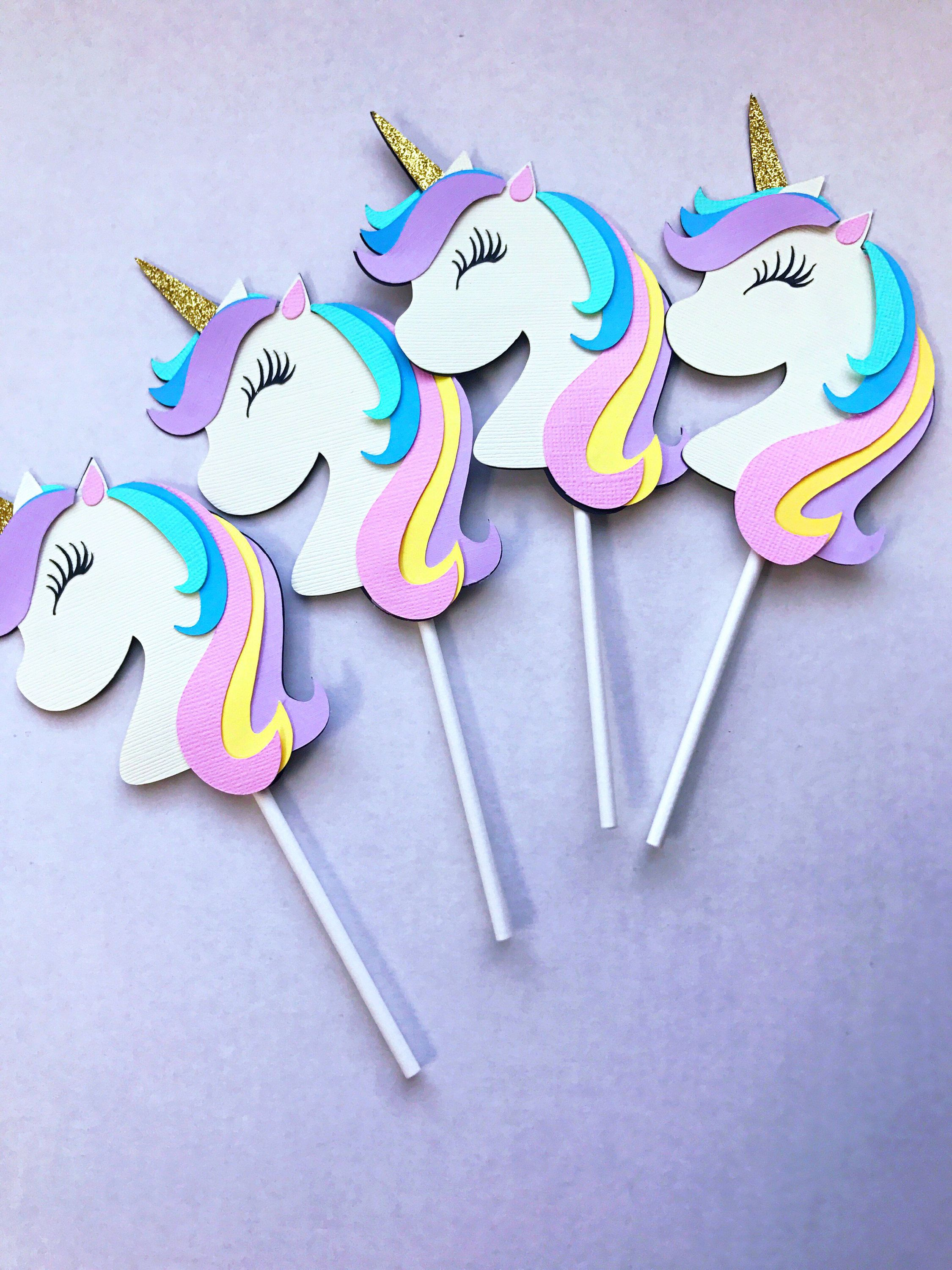Having A Magical Unicorn Themed Party You Have To Include These Super Adorable Cupcake
