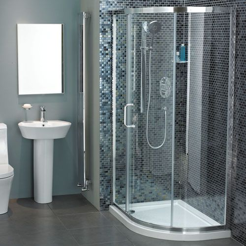 Atlas Offset Quadrant Sliding Door Shower Enclosure Quadrant Shower Enclosures Quadrant Shower Shower Enclosure