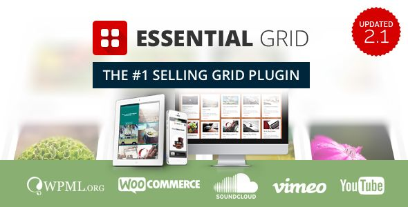 Essential Grid v2.1.0.2 - WordPress Plugin - https://codeholder.net ...