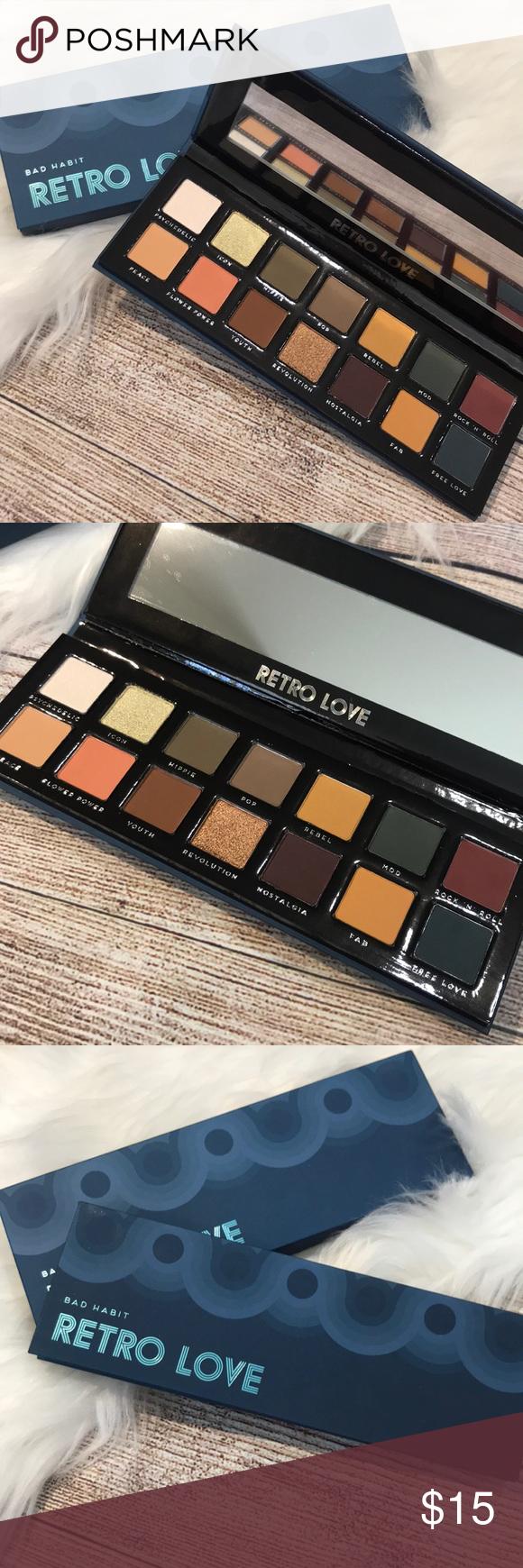 Bad Habit Retro Love eyeshadow palette NEW Retro