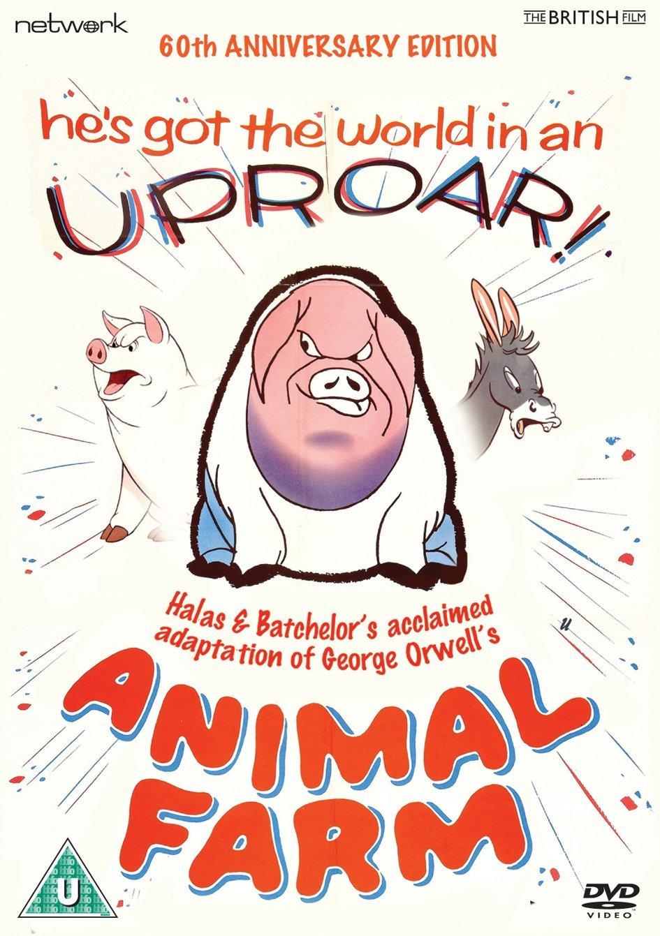 El Primer Largometraje Animado Británico De Amplia Distribución Fue La Granja De Los Animales 1954 Basada En La Animales De La Granja Animales George Orwell