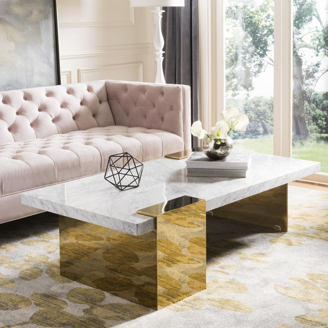 Make A Monumental Design Statement With This Luxurious Marble