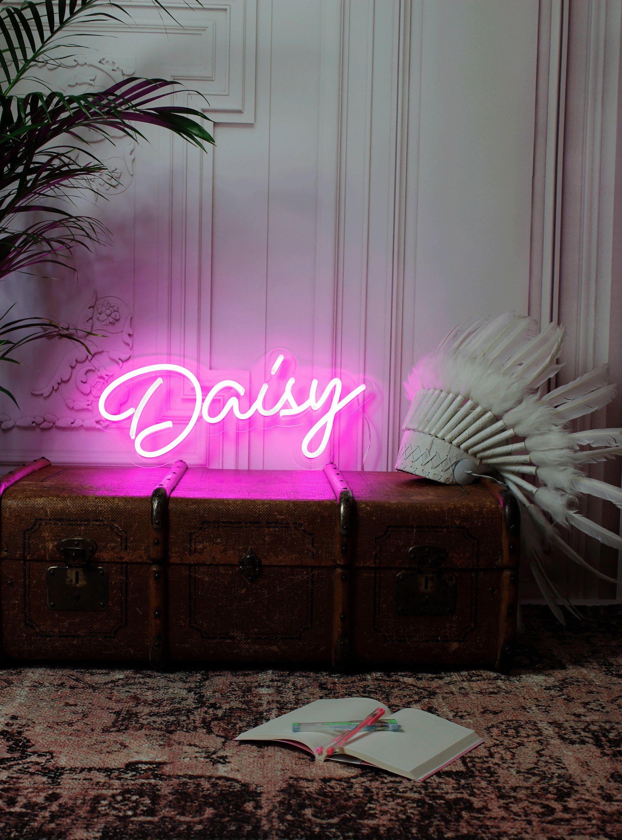 Custom Neon Sign Light Bar Wedding Logo Name Bedroom