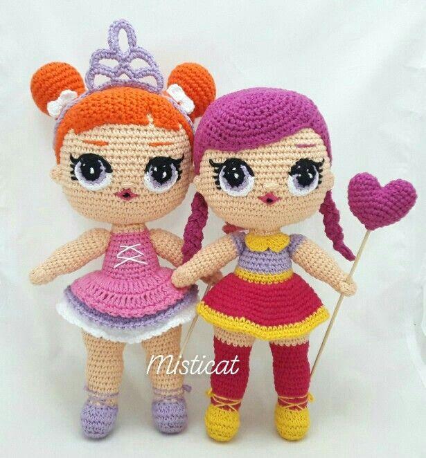 Free Crochet Amigurumi Doll Pattern Tutorials | Вязаные куклы ... | 662x615