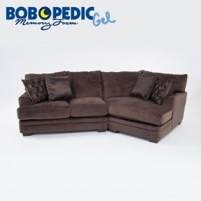 Best Charisma 2 Piece Sectional With Cuddler Chaise Cuddler 400 x 300