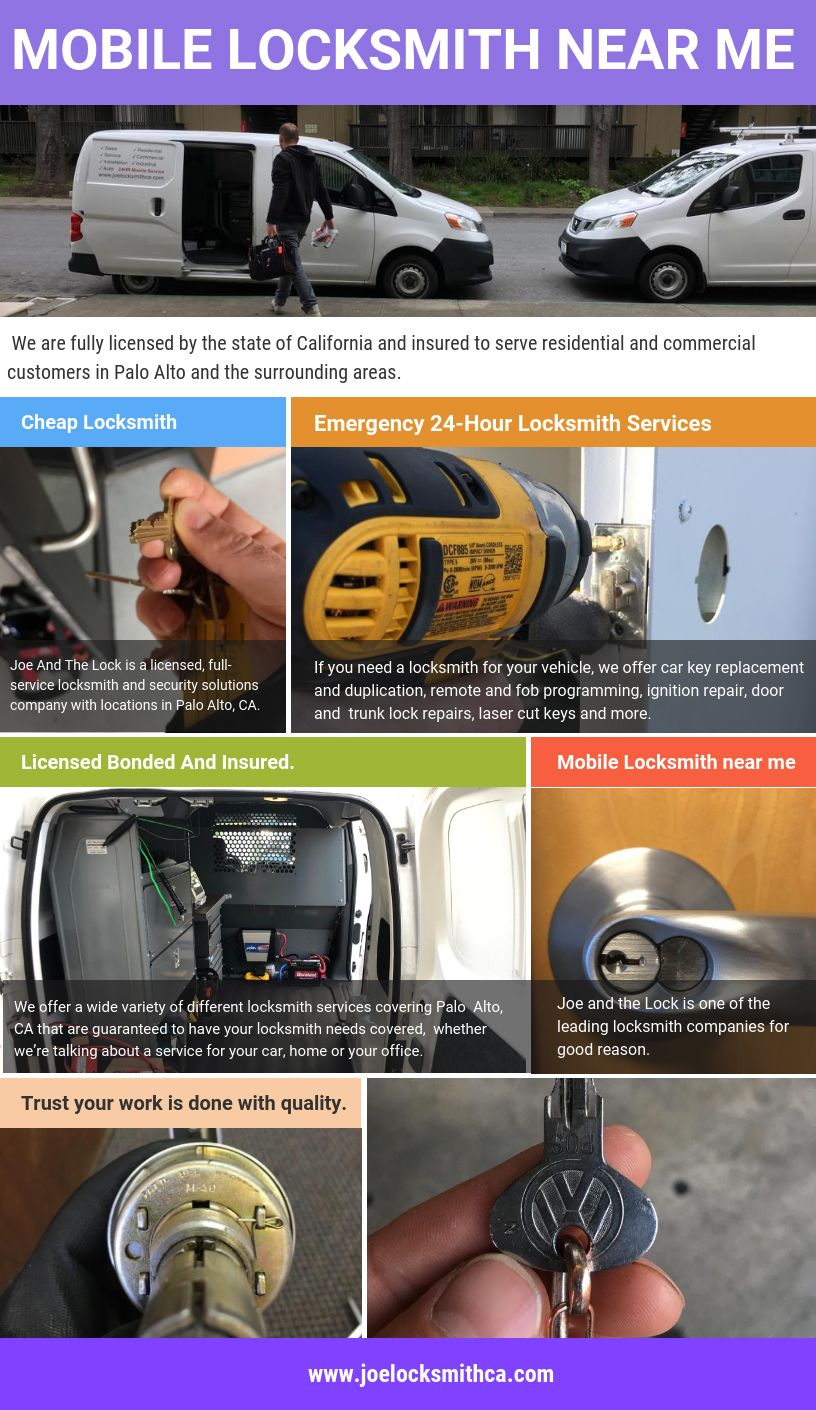 Some of the most common services offered by best locksmith