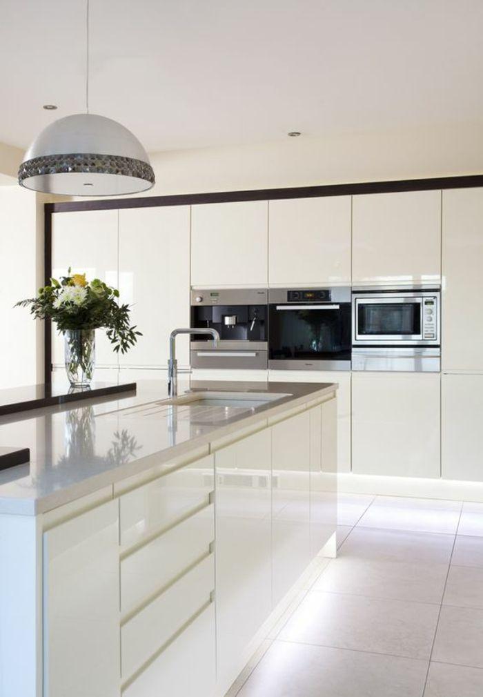 ▷ 1001 Idées pour une cuisine laquée blanche des exemples bien