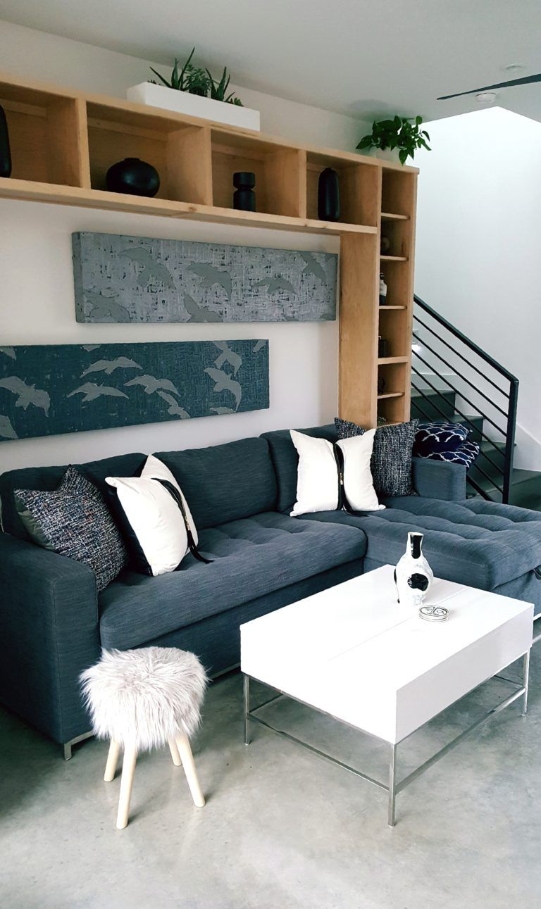 Staging with deborah main luxury pillows by vazzo spaces for modern home tour austin