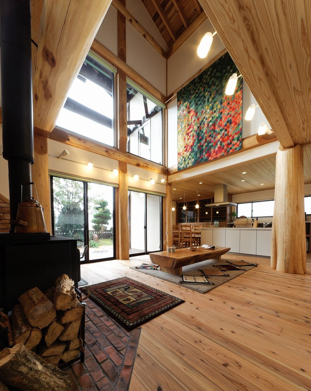 Moore Log And Timber Homes Japanese Post And Beam Japanese Interior Modern Japanese Interior Japanese Interior Design