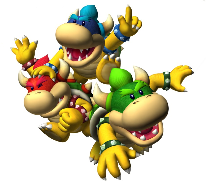 This is a list of bosses in New Super Mario Bros. Koopaling Chaos.