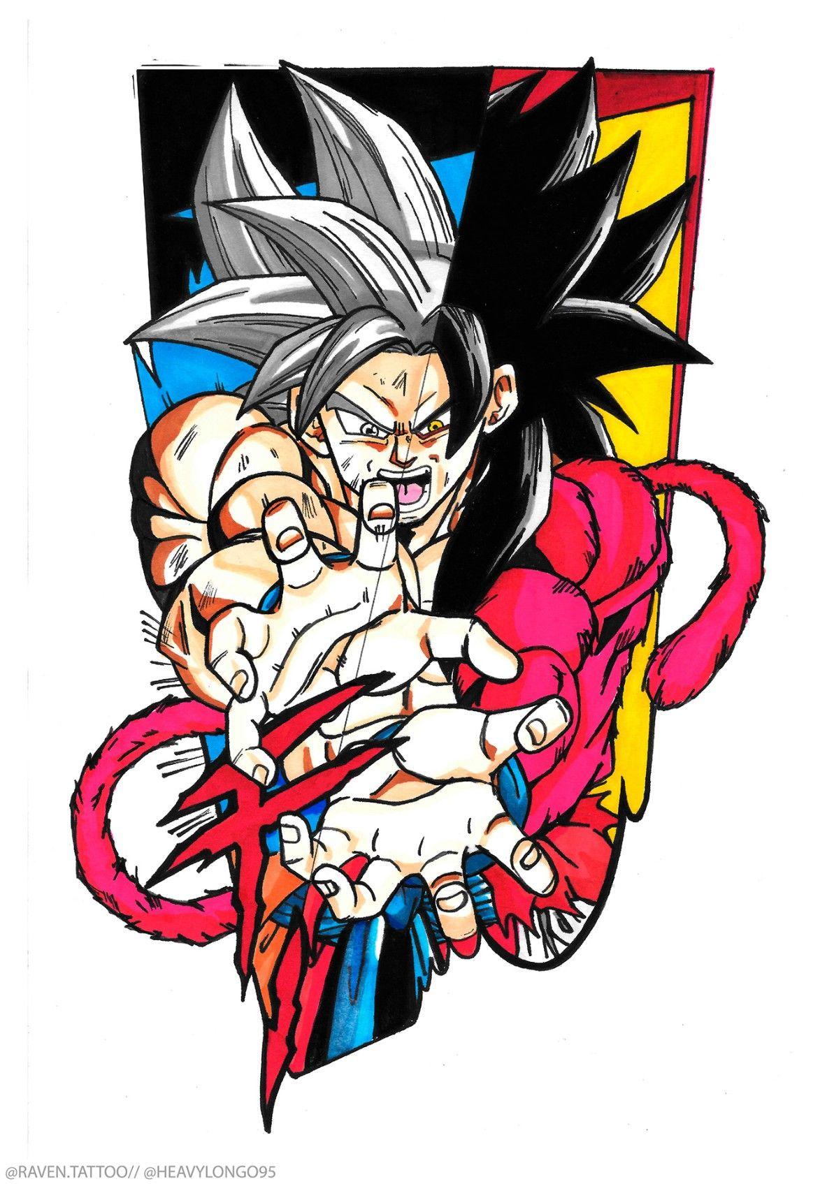 Goku Ultra Instinct Ssj4 Dragon Ball Super Mangas