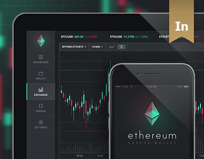 Consulter ce projet @Behance: «Ethereum - Dashboard / App UI» https://www.behance.net/gallery/44830615/Ethereum-Dashboard-App-UI