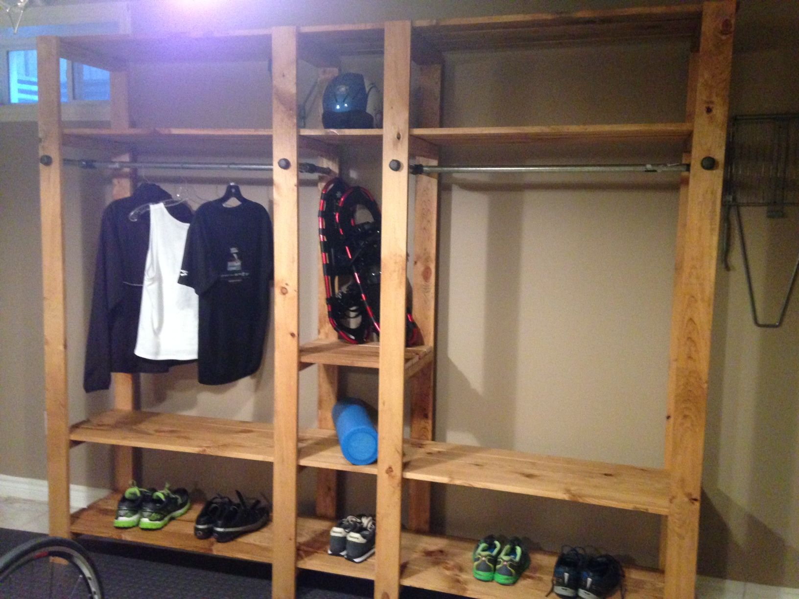 Industrial Closet System | Do It Yourself Home Projects from Ana ...