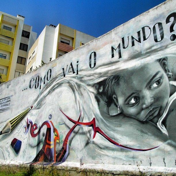 Odeith Eith Mural Lisboa Street Art Arte Arte Urbano Y Murales