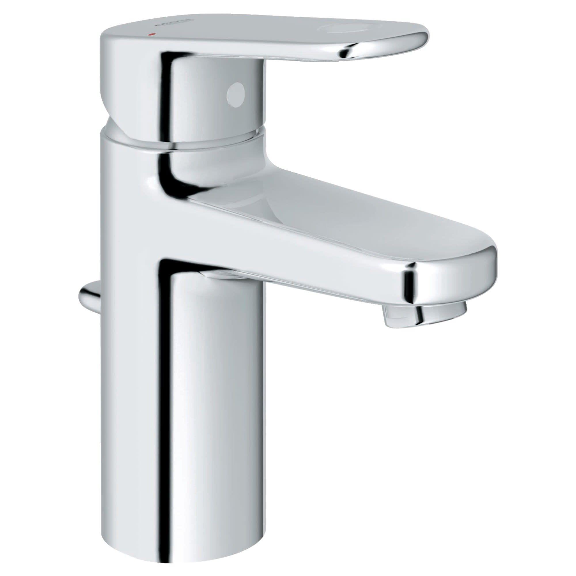 Grohe America Inc 33 170 A Europlus 1 2 Gpm Single Hole Bathroom Faucet Sta Bathroom Faucets Single Handle Bathroom Sink Faucet Single Hole Bathroom Faucet [ 2000 x 2000 Pixel ]