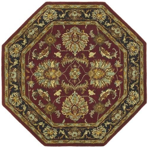 St. Croix Trading Traditions Agra Area Rug, Burgundy (Red)